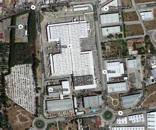 Monitorización de un centro logístico para la cadena DIA